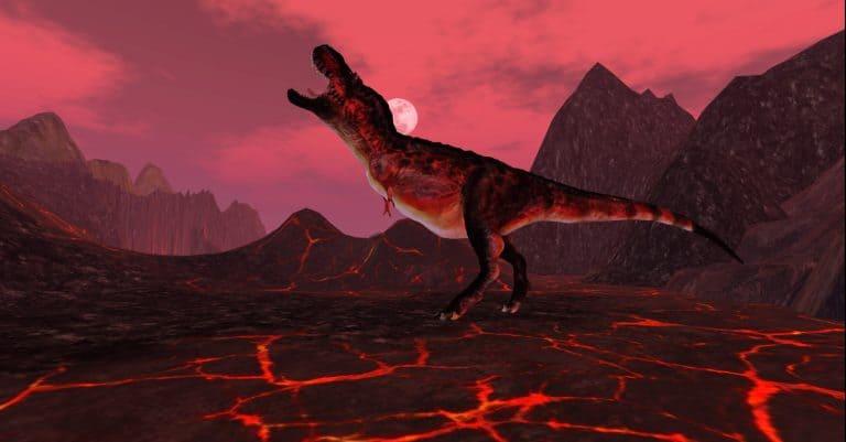 Magma T-Rex