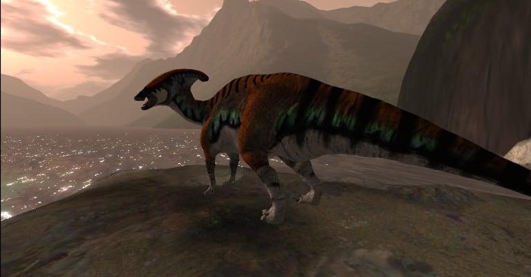 Parasaurolophus_001 flip