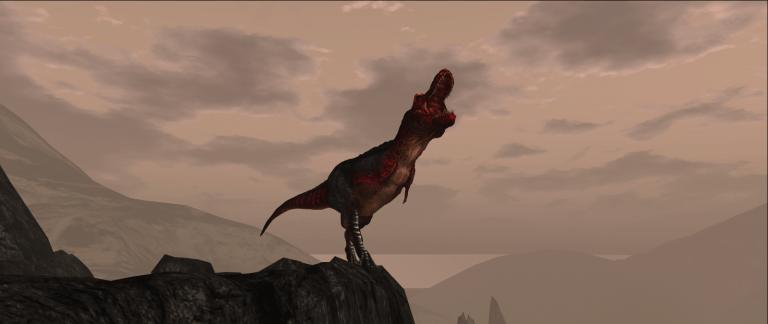 T-Rex Cliff Roar Wide